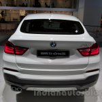 BMW X4 at the 2014 Moscow Motor Show rear