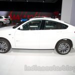 BMW X4 at the 2014 Moscow Motor Show side
