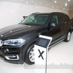 BMW X5 Security Plus at the 2014 Moscow Motor Show front quarter