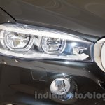 BMW X5 Security Plus at the 2014 Moscow Motor Show headlight