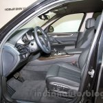 BMW X5 Security Plus at the 2014 Moscow Motor Show interior