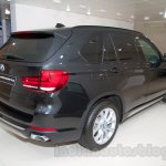 BMW X5 Security Plus at the 2014 Moscow Motor Show rear quarter