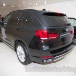 BMW X5 Security Plus at the 2014 Moscow Motor Show rear quarters