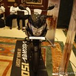Bajaj Discover 150 F Launch black and red front