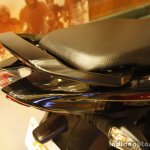 Bajaj Discover 150 F Launch black grab rail