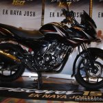 Bajaj Discover 150 F Launch black profile