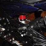 Bajaj Discover 150 F Launch blue centre panel