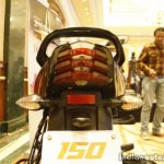 Bajaj Discover 150 F Launch grab rail