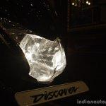 Bajaj Discover 150 F Launch headlights on