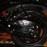 Bajaj Discover 150 F Launch rear wheel
