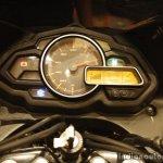 Bajaj Discover 150 F Launch speedo meter