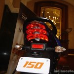 Bajaj Discover 150 F Launch tailight on