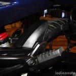 Bajaj Discover 150 F Launch tyre hugger