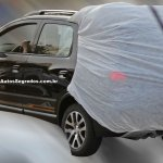 Chevrolet Spin Activ spied in Brazil rear three quarter