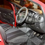 Fiat Punto Evo driver side cabin at the launch