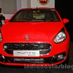 Fiat Punto Evo front at the launch