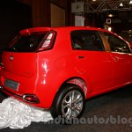 Fiat Punto Evo rear three quarters at the launch