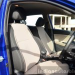Hyundai Elite i20 Diesel Review front seat