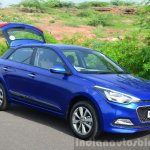 Hyundai Elite i20 Diesel Review front with boot open