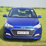 Hyundai Elite i20 Diesel Review front