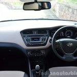 Hyundai Elite i20 Diesel Review interior