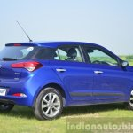 Hyundai Elite i20 Diesel Review rear three quarters
