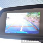 Hyundai Elite i20 Diesel Review reverse camera view