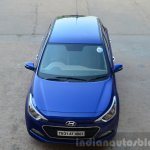 Hyundai Elite i20 Diesel Review top view