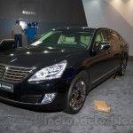 Hyundai Equus Limousine at 2014 Moscow Motor Show front quarter