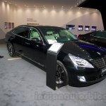 Hyundai Equus Limousine at 2014 Moscow Motor Show front quarters