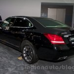 Hyundai Equus Limousine at 2014 Moscow Motor Show rear quarters