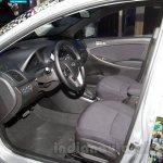 Hyundai Solaris facelift 2014 Moscow live interior