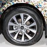 Hyundai Solaris facelift 2014 Moscow live wheel
