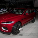 Jaguar C-X17 Concept front three quarters at 2014 Moscow Motor Show