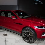 Jaguar C-X17 Concept front three quarters left at 2014 Moscow Motor Show