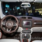 Jeep Renegade at the Moscow Motor Show 2014 dashboard