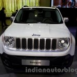 Jeep Renegade front at the Moscow Motor Show 2014