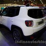 Jeep Renegade rear left three quarter at the Moscow Motor Show 2014