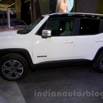 Jeep Renegade side at the Moscow Motor Show 2014