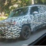 Jeep Renegade spied in Brazil front three quarter