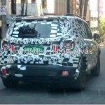 Jeep Renegade spied in Brazil rear