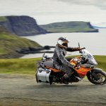 KTM 1190 Adventure cornering