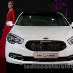 Kia Quoris at the 2014 Moscow Motor Show front