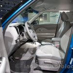 Kia Soul EV at the 2014 Moscow Motor Show front seat