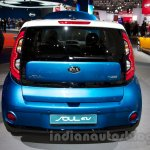 Kia Soul EV at the 2014 Moscow Motor Show rear