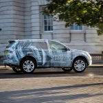 Land Rover Discovery Sport testing teaser profile