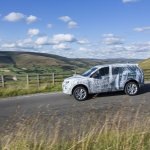 Land Rover Discovery Sport testing teaser side