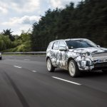 Land Rover Discovery Sport testing teaser