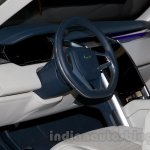 Land Rover Discovery Vision Concept dashboard at the 2014 Moscow Motor Show
