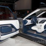 Land Rover Discovery Vision Concept door pad at the 2014 Moscow Motor Show